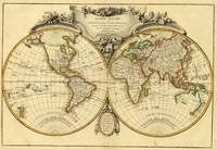 Old Fashioned World Map (1782)
