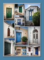 Doorways in Greece-1