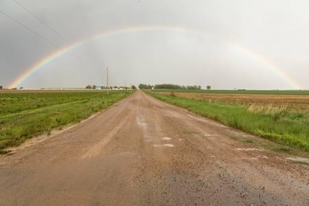 Drive Through A County Rainbow