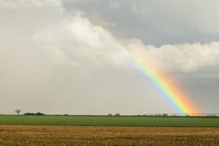 Just Another County Rainbow in The Sky