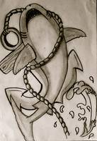 Shark and Anchor