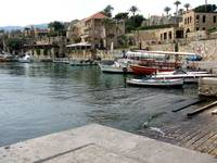 Lebanon Historic Byblos Port