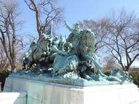 Cavalry Charge at the Grant Memorial