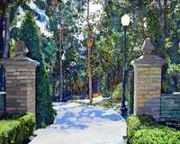 Balboa Park - Gate to the Archery Range