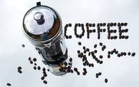 Coffee Pot & Coffee Beans