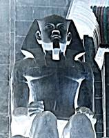 Pharaoh Seated