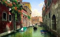 Venice Italy Scenic Waterways