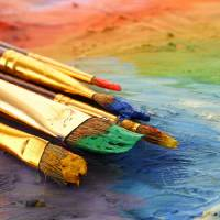 """""""Dirty Paint Brushes"""" by AnswersFound"""