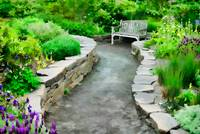 Path to the Garden Bench