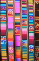 Colorful Cloth and Leather Belts