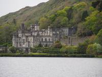 Kylemore Abbey in Galway County, Ireland