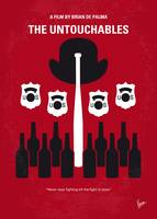 No463 My The Untouchables minimal movie poster