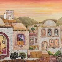 """Sunset over Jerusalem"" by MuchnikArts"