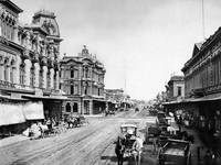 Downtown San Jose 1870 by WorldWide Archive