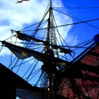 Mast ship7coupville Art Prints & Posters by Brenda Pike
