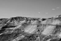 S.D. Badlands VI B&W
