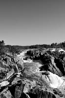 Great Falls III B&W
