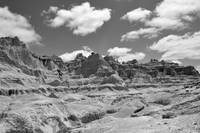 S.D. Badlands II B&W