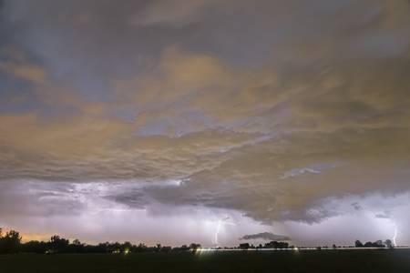 Diagonal Lightning Strikes