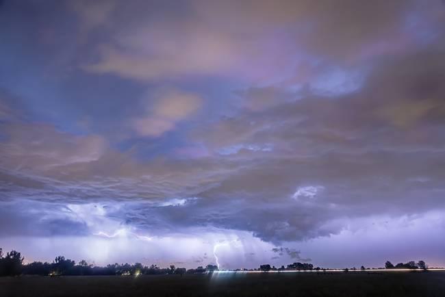 Diagonal Lightning Strikes 2