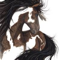 """Ashante - Spirit Horse"" by AmyLynBihrle"