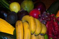 mixed vegetables and fruit