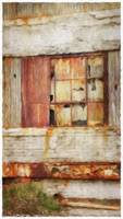 Rusty Industrial Window