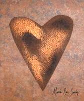 Expressive Art Series 1 Copper Heart