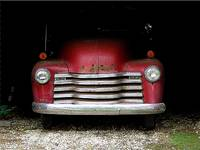 50 GMC in Barn