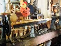 Lathe in Wood Shop
