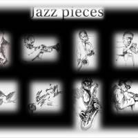 Jazz pieces Art Prints & Posters by aurwinni10