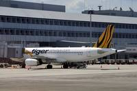 Tiger Airways A320 9V-TAZ