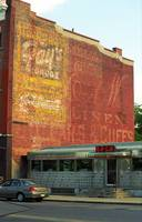 Auburn, NY - Diner and Ghost Mural