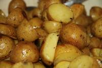 Just roasted potates