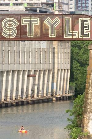 Lamar Rail Bridge, Austin