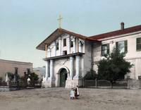 Mission Dolores, San Francisco 1898 by WorldWide Archive
