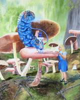 Alice In Wonderland: Alice Meets a Caterpillar