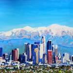 City of Angeles Los Angeles  by RD Riccoboni