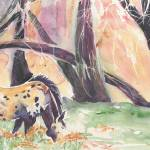 Costilla Pony watercolor