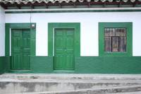 Green Window and Doors