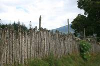 Farmer's Fence in Cotacachi