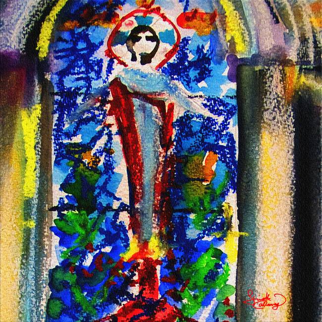 "Abstract ""Catholic"" Artwork For Sale On Fine Art Prints"