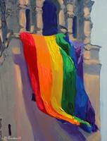 Rainbow Flag Love Wins 2015