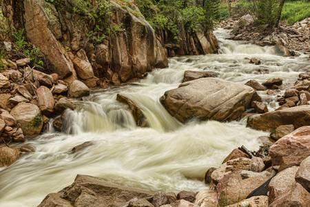 Cascading Colorado Rocky Mountain Stream