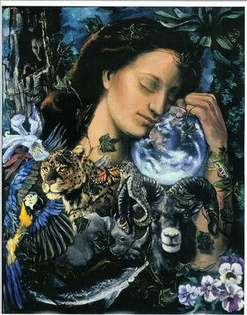 Gaia The Earth Mother by Peggy Kane