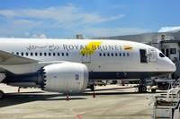 Royal Brunei B-787/8 DLB Front RR Engine