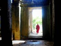 Cambodia: Monk at Angkor Wat (2015)