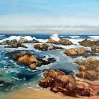 """""""Ocean Waves"""" by artbymishelle"""