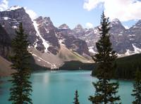 Moraine Lake in Banff National Park, Alberta