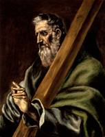 El Greco (school of) - The Apostle St. Andrew